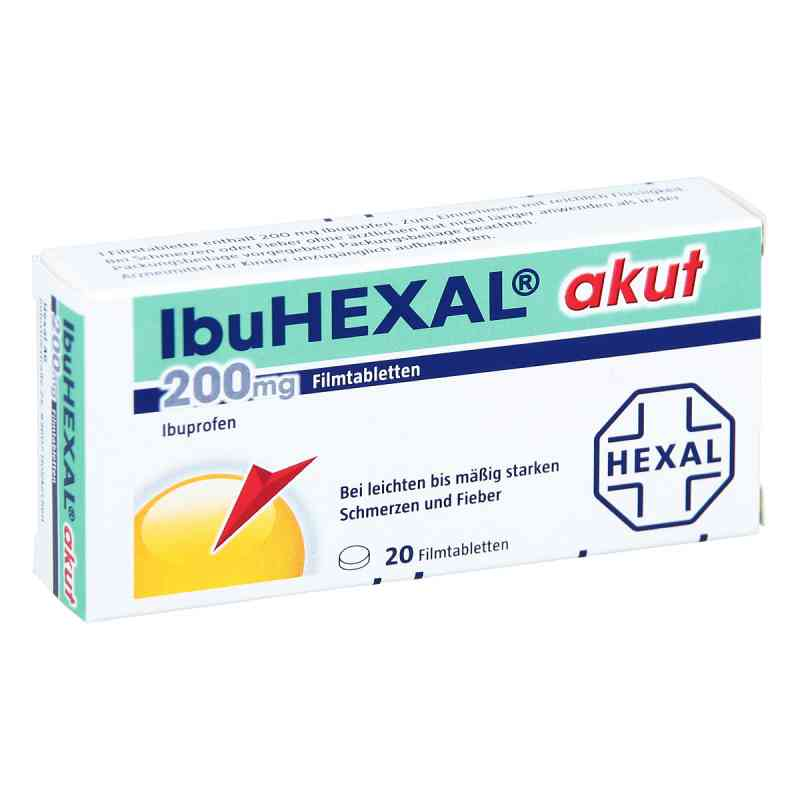 IbuHEXAL akut 200mg  bei Apotheke.de bestellen