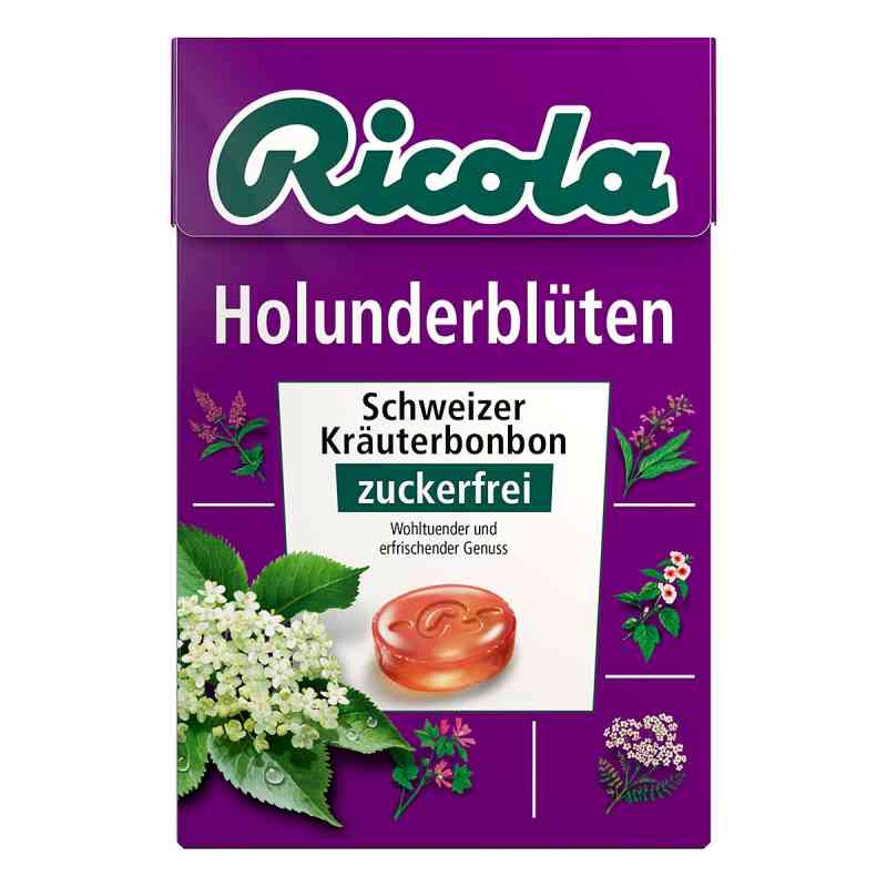 Ricola ohne Zucker Box Holunderblüten Bonbons  bei Apotheke.de bestellen