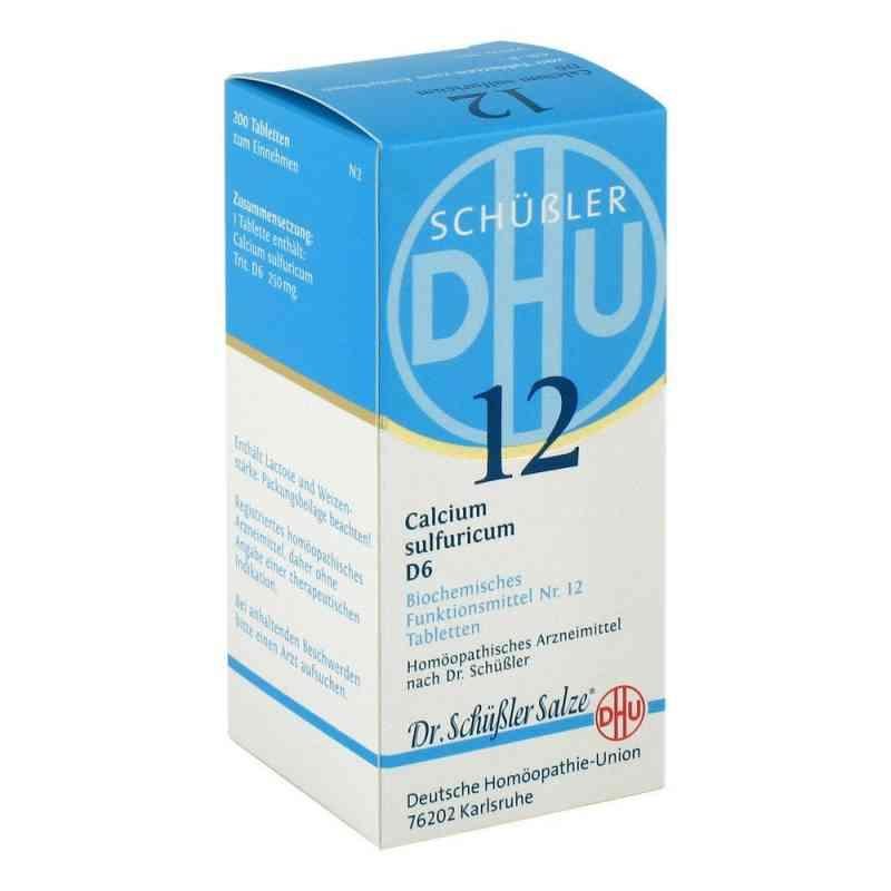 Biochemie Dhu 12 Calcium Sulfur D6 Tabletten  bei Apotheke.de bestellen