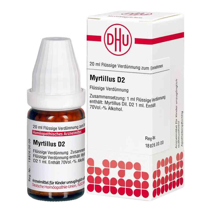 Myrtillus D2 Dilution  bei Apotheke.de bestellen