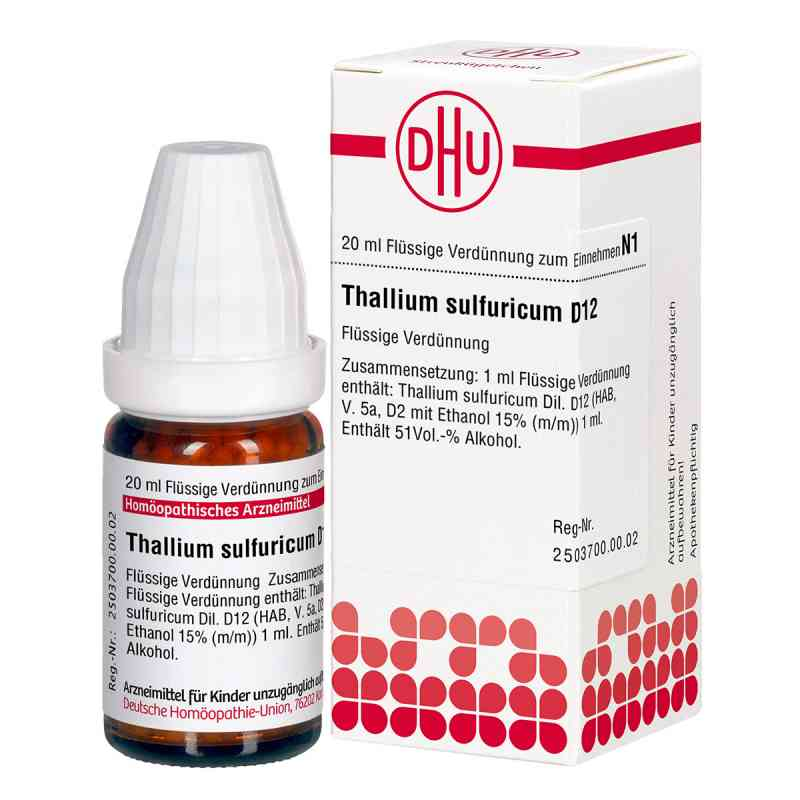 Thallium Sulf. D12 Dilution  bei Apotheke.de bestellen