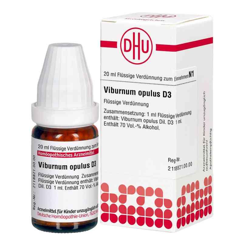 Viburnum Opulus D3 Dilution  bei Apotheke.de bestellen