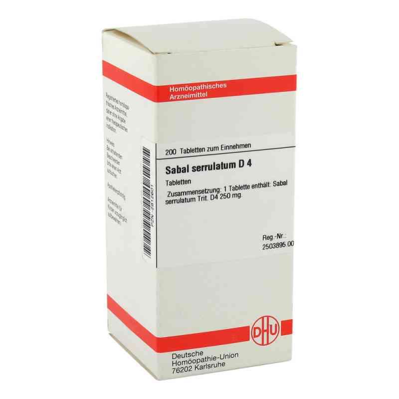 Sabal Serrul. D4 Tabletten  bei Apotheke.de bestellen
