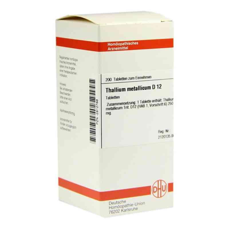 Thallium Met. D12 Tabletten  bei Apotheke.de bestellen