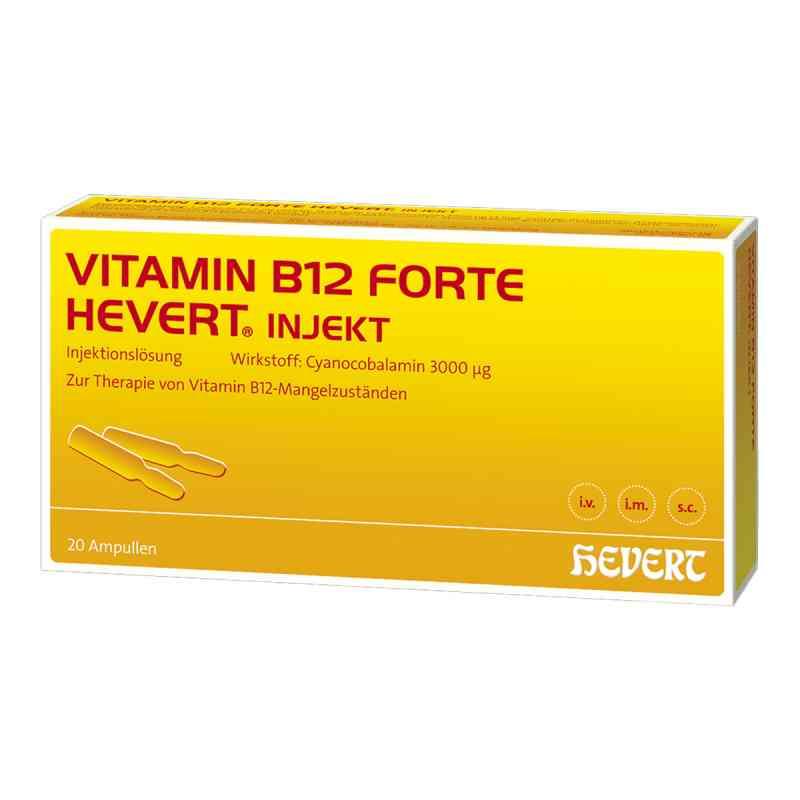 Vitamin B12 Hevert forte Injekt Ampullen  bei Apotheke.de bestellen