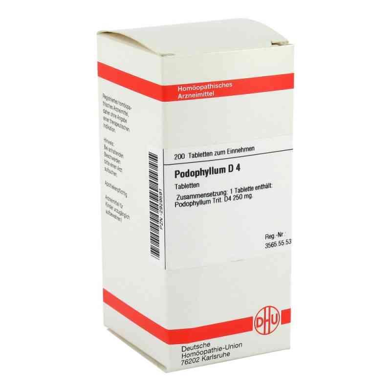 Podophyllum D4 Tabletten  bei Apotheke.de bestellen