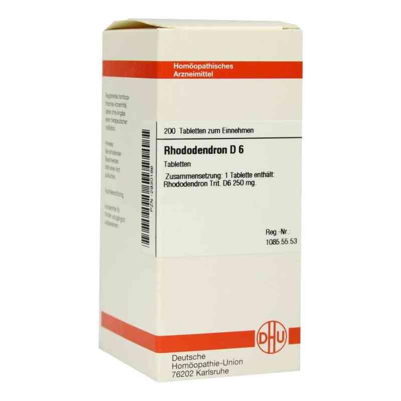 Rhododendron D6 Tabletten  bei Apotheke.de bestellen