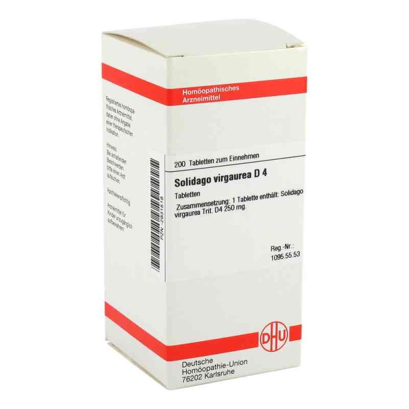 Solidago Virgaurea D4 Tabletten  bei Apotheke.de bestellen