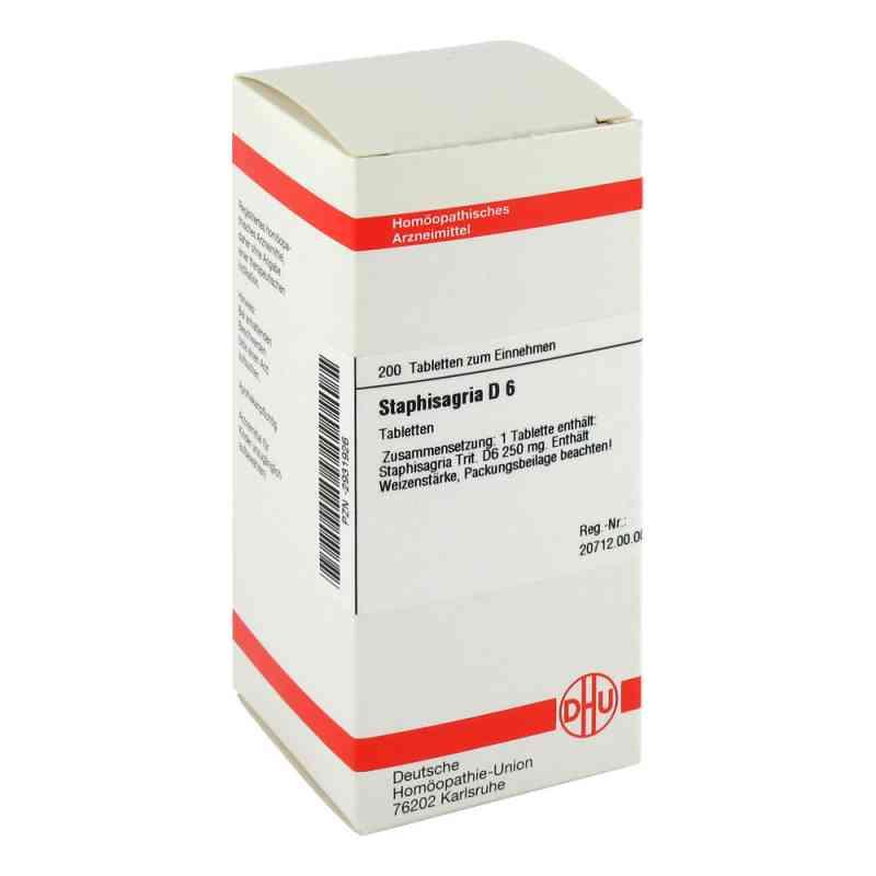 Staphisagria D6 Tabletten  bei Apotheke.de bestellen
