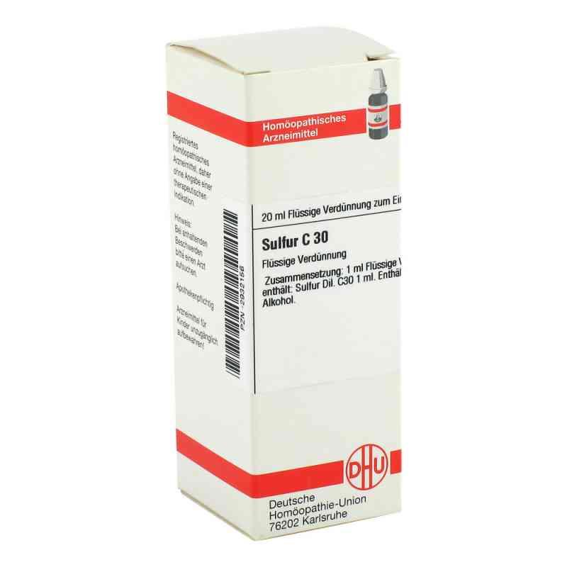 Sulfur C30 Dilution  bei Apotheke.de bestellen