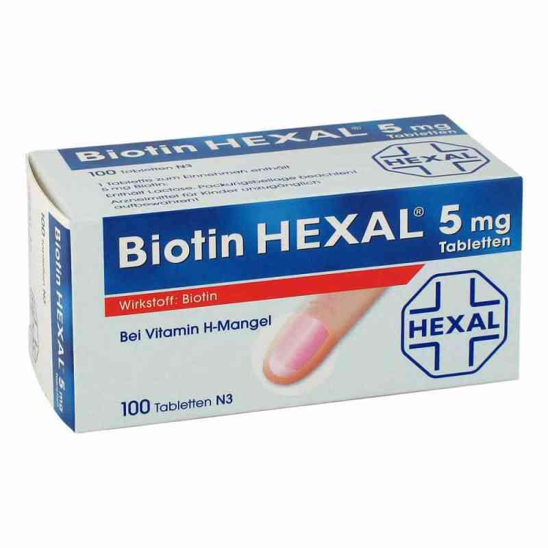Biotin Hexal 5 mg Tabletten  bei Apotheke.de bestellen