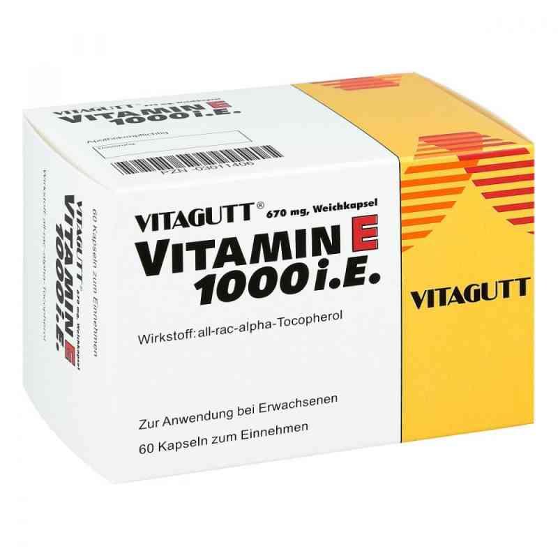 Vitagutt Vitamin E 1000 Kapseln  bei Apotheke.de bestellen