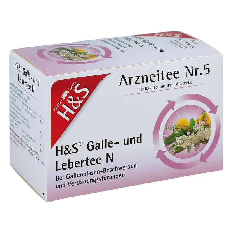 H&s Galle- und Lebertee N Filterbeutel  bei Apotheke.de bestellen