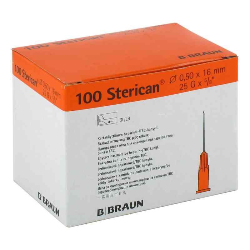 Sterican Ins.einm.kan.0,50x16mm  bei Apotheke.de bestellen