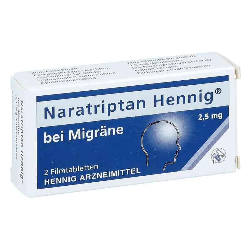 Naratriptan Hennig bei Migräne 2,5mg  bei Apotheke.de bestellen