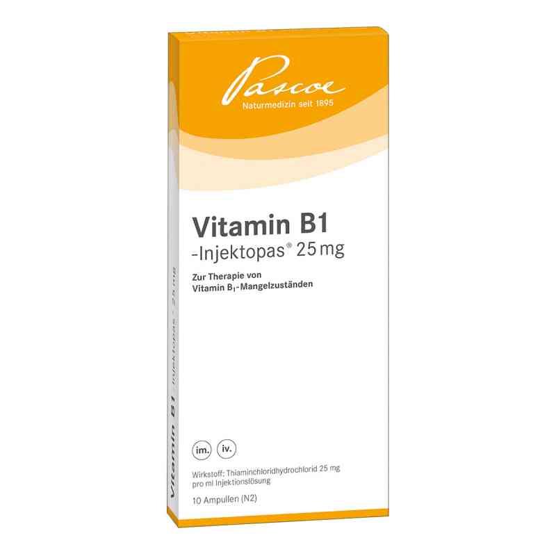 Vitamin B1 Injektopas 25 mg Injektionslösung  bei Apotheke.de bestellen