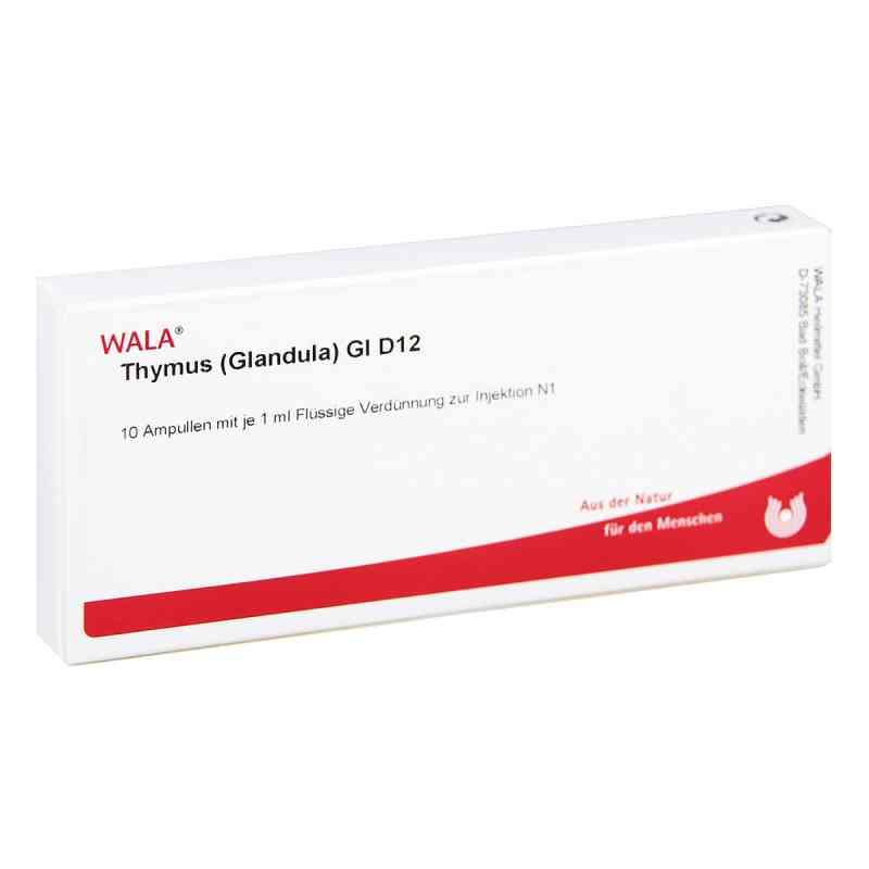 Thymus Glandula Gl D12 Ampullen  bei Apotheke.de bestellen