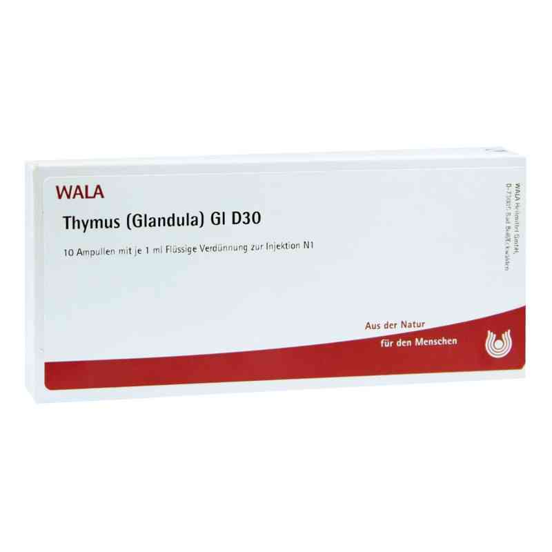 Thymus Glandula Gl D30 Ampullen  bei Apotheke.de bestellen