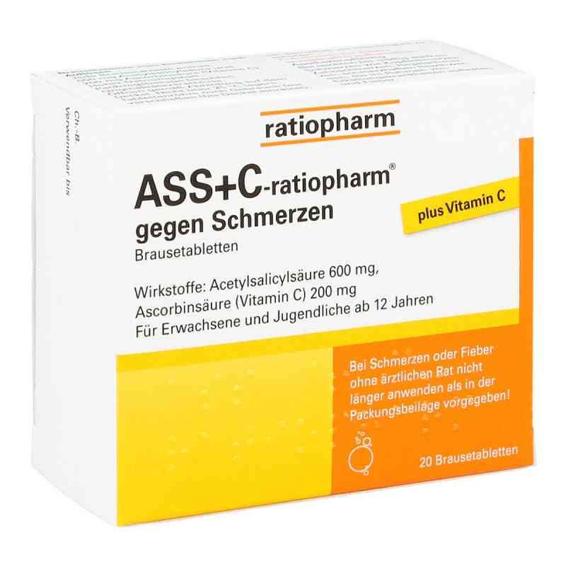 ASS+C-ratiopharm gegen Schmerzen  bei Apotheke.de bestellen