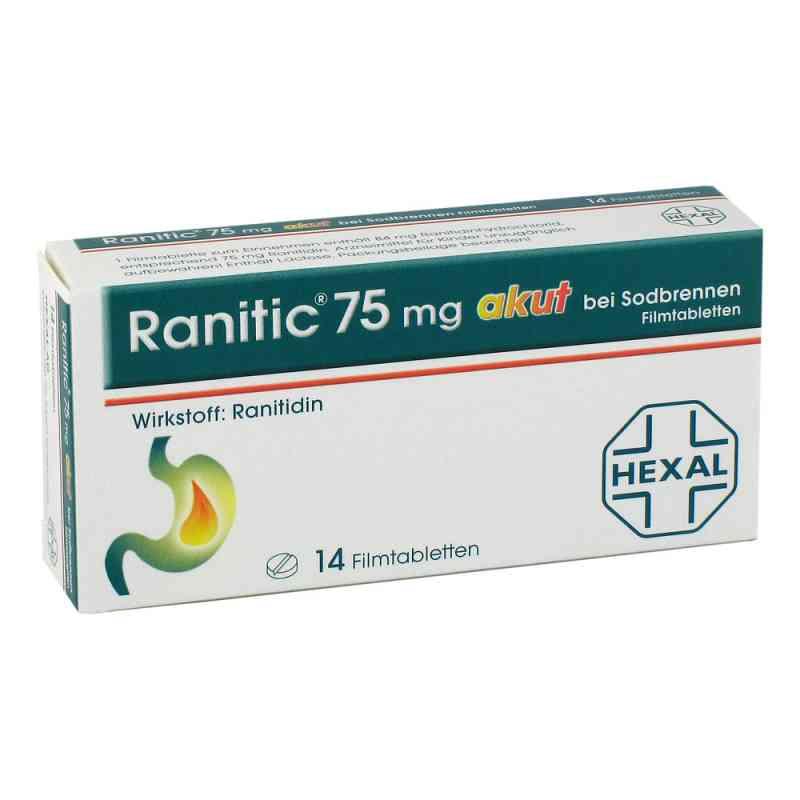Ranitic 75mg akut bei Sodbrennen  bei Apotheke.de bestellen
