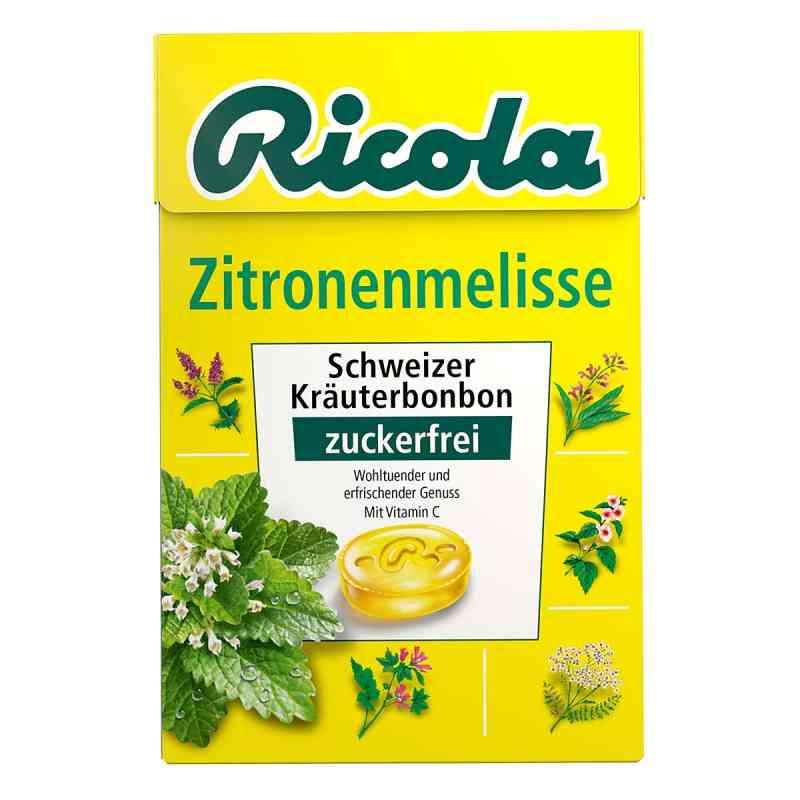 Ricola ohne Zucker Box Zitronenmelisse Bonbons  bei Apotheke.de bestellen