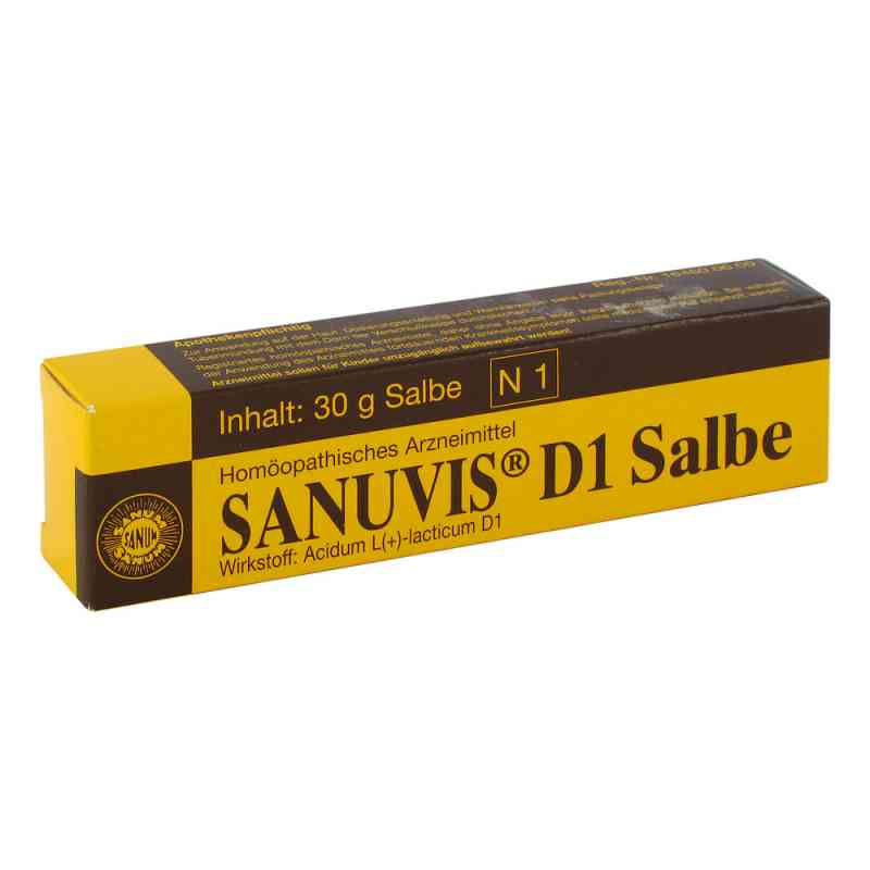 Sanuvis D 1 Salbe  bei Apotheke.de bestellen