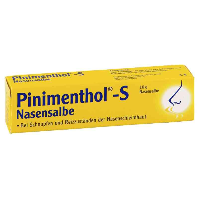 Pinimenthol S Nasensalbe  bei Apotheke.de bestellen