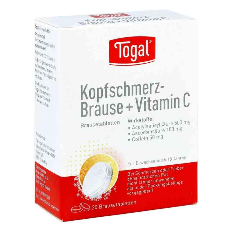Togal Kopfschmerz-Brause+Vitamin C  bei Apotheke.de bestellen