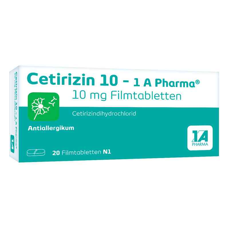 Cetirizin 10-1A Pharma  bei Apotheke.de bestellen