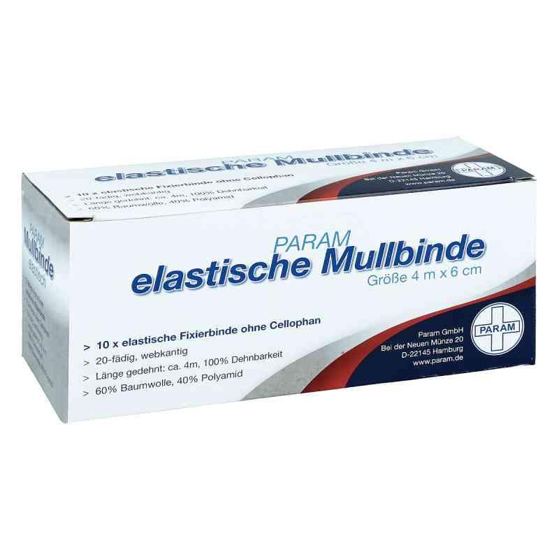 Mullbinden elastisch 6 cm ohne Cellophan  bei Apotheke.de bestellen