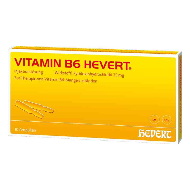 Vitamin B6 Hevert Ampullen  bei Apotheke.de bestellen