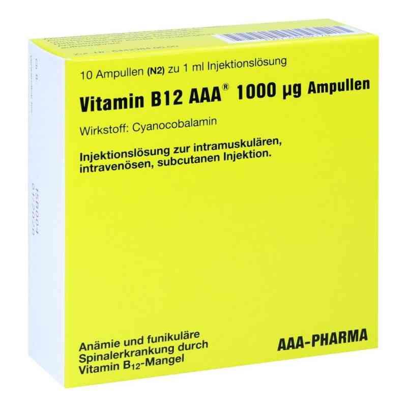 Vitamin B12 Aaa 1000 [my]g Ampullen  bei Apotheke.de bestellen