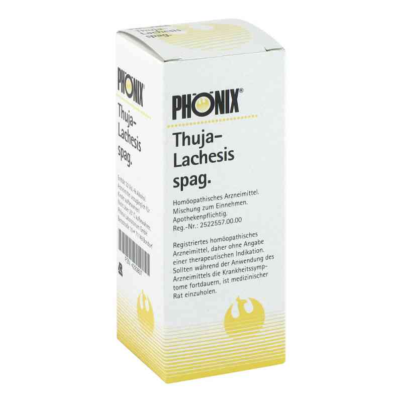 Phönix Thuja lachesis spag. Tropfen  bei Apotheke.de bestellen