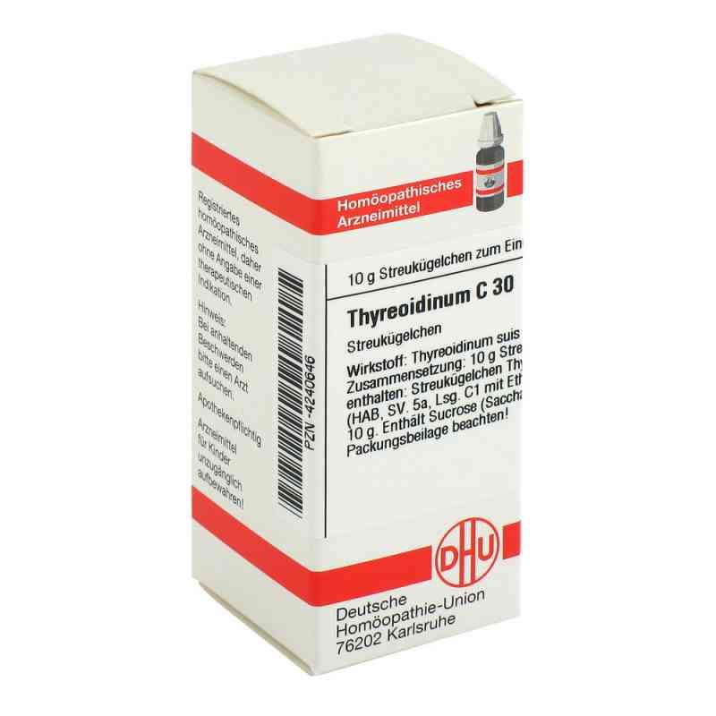 Thyreoidinum C 30 Globuli  bei Apotheke.de bestellen