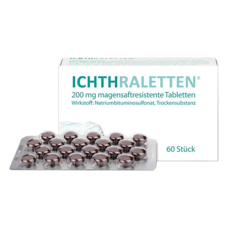 Ichthraletten magensaftresistente Tabletten  bei Apotheke.de bestellen