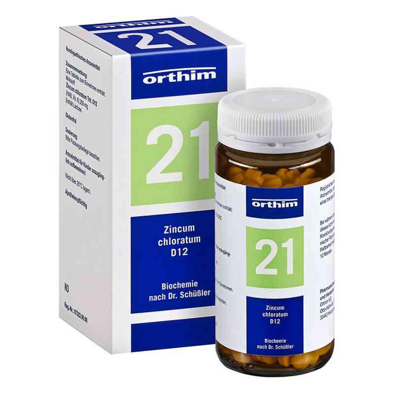 Biochemie Orthim 21 Zincum chloratum D12 Tabletten  bei Apotheke.de bestellen
