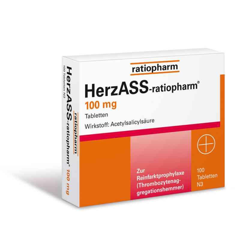 HerzASS-ratiopharm 100mg  bei Apotheke.de bestellen