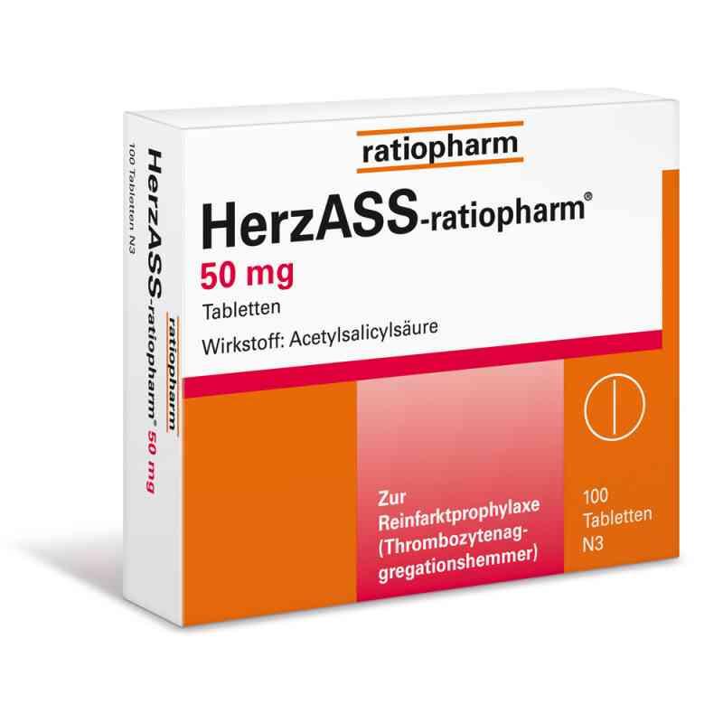HerzASS-ratiopharm 50mg  bei Apotheke.de bestellen