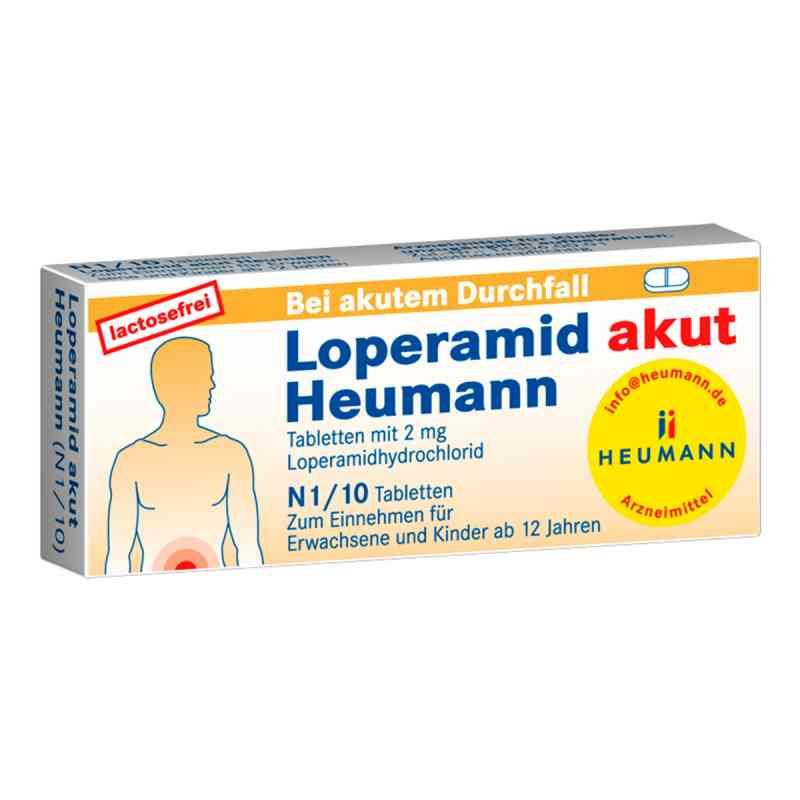 Loperamid akut Heumann  bei Apotheke.de bestellen