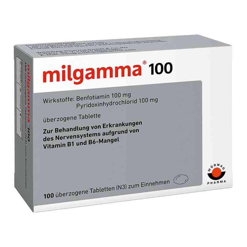 milgamma 100 mg berzogene tabletten 100 stk. Black Bedroom Furniture Sets. Home Design Ideas