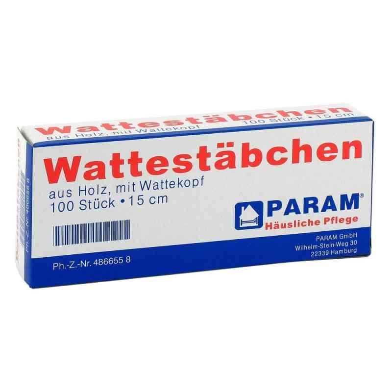 Wattestab mit Wattekopf 15 cm  bei Apotheke.de bestellen