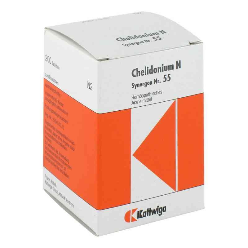 Synergon 55 Chelidonium N Tabletten  bei Apotheke.de bestellen