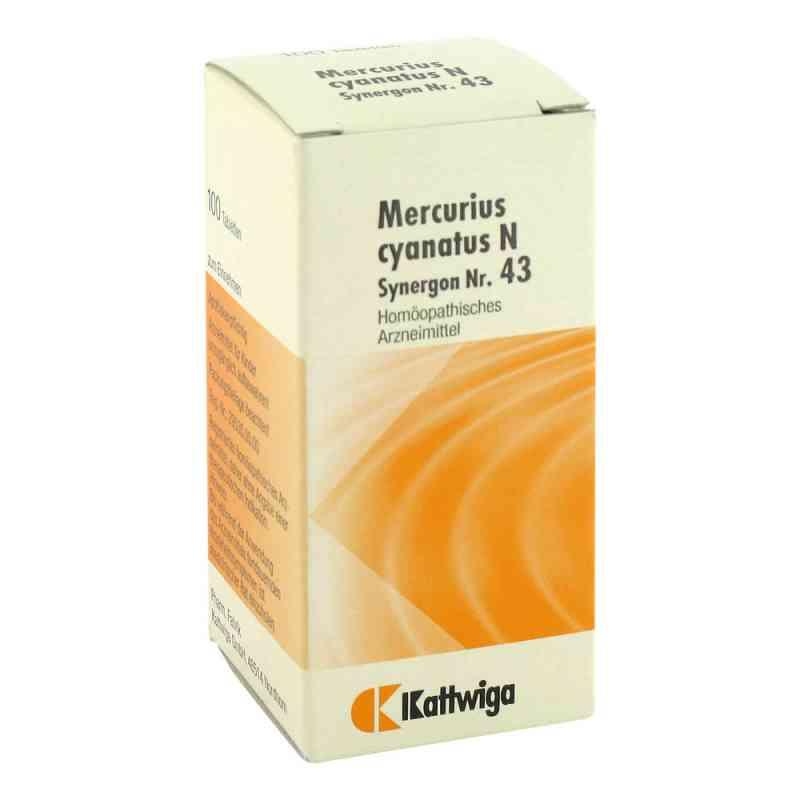 Synergon 43 Mercurius cyanatus N Tabletten  bei Apotheke.de bestellen
