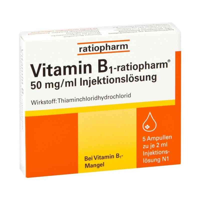 Vitamin B1 ratiopharm 50mg/ml iniecto lsg. Ampullen  bei Apotheke.de bestellen