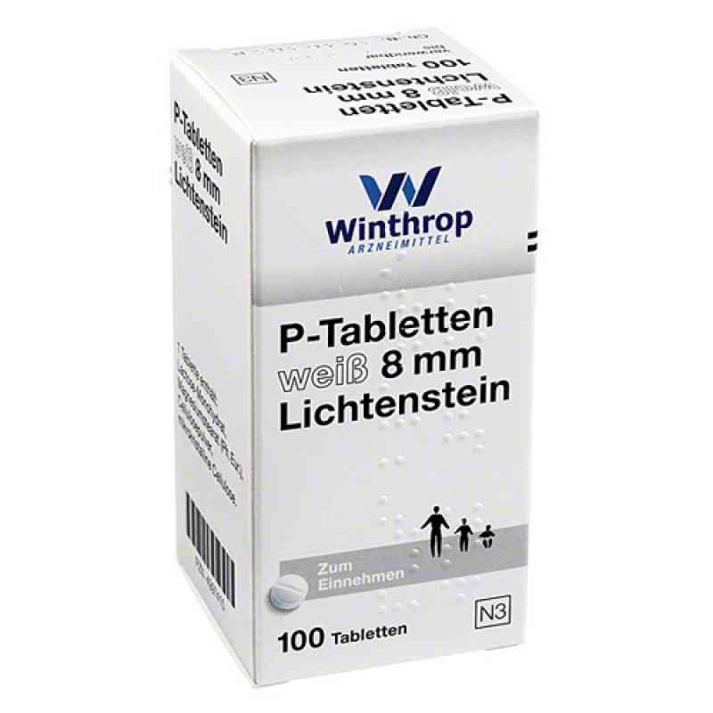 P Tabletten weiss 8 mm  bei Apotheke.de bestellen
