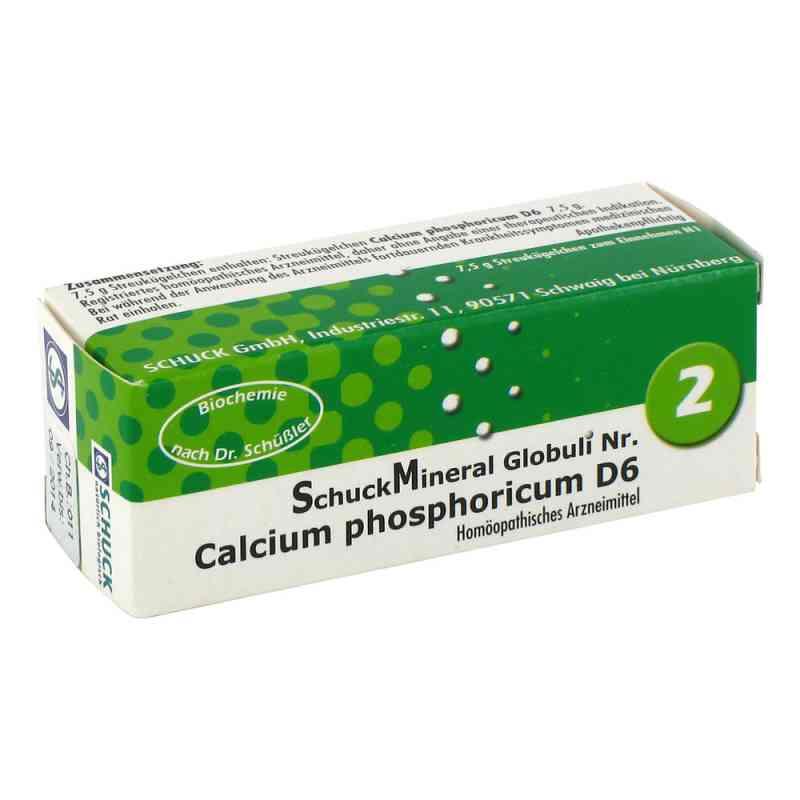 Schuckmineral Globuli 2 Calcium phosphoricum D6  bei Apotheke.de bestellen