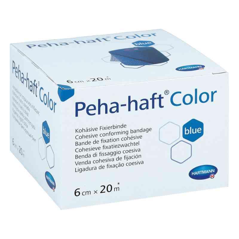 Peha Haft Color Fixierbinde 6cmx20m blau  bei Apotheke.de bestellen