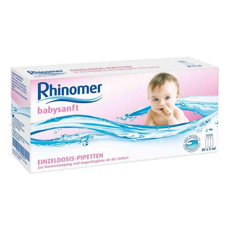 Rhinomer babysanft Meerwasser 5ml Einzeldosispipetten  bei Apotheke.de bestellen