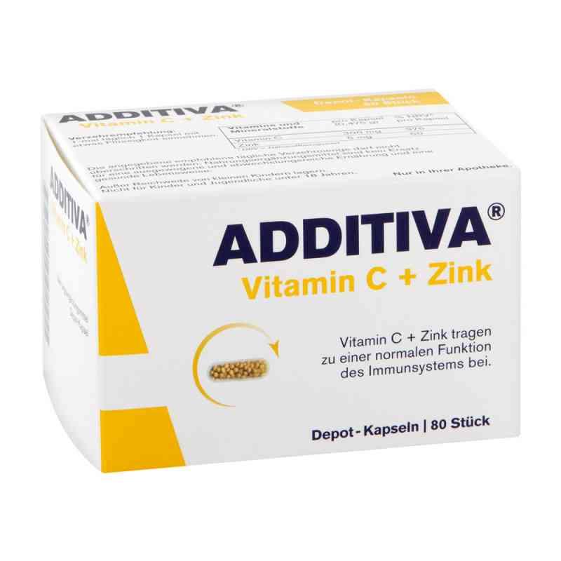 Additiva Vitamin C+zink Depotkaps.aktionspackung  bei Apotheke.de bestellen