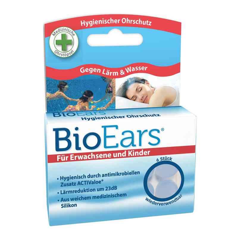Bioears Silikon Ohrstöpsel antimikrobielle  bei Apotheke.de bestellen